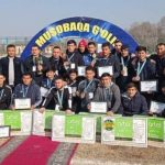 Футбольная команда ферганских студентов — победитель «Универсиады-2020»