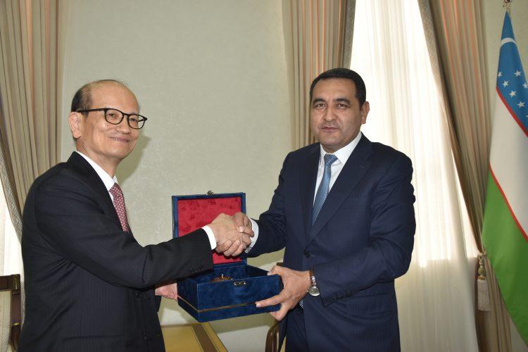 Посол Японии в Узбекистане:  «У НАШЕГО СОТРУДНИЧЕСТВА  ХОРОШИЕ ПЕРСПЕКТИВЫ»